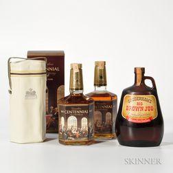 Mixed Canadian, 1 40 oz. bottle 2 4/5 quart bottles