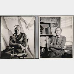 George Platt Lynes (American, 1907-1955)      Eight Portraits of Authors and Critics