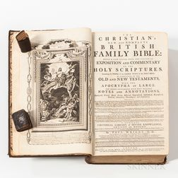 Early Bible and Two Miniature Biblical Works