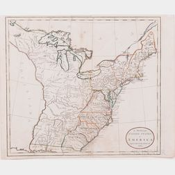 North America, United States, Four Maps, c. 1785-1818.