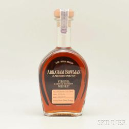 Abraham Bowman Double Barrel 2006, 1 750ml bottle