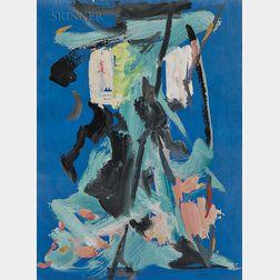 Selim Turan (Turkish, 1915-1994)    Abstract