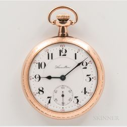"Hamilton Watch Co. Open-face ""950"" Watch"