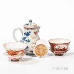 Small Group of Chinese Export Porcelain Teaware