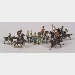 Britains and Mignot Lead Military Figures