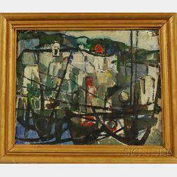 Zvi Mairovich (Israeli, 1911-1974)      On the ...afad Road