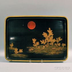 Japanese Lacquerware Tray