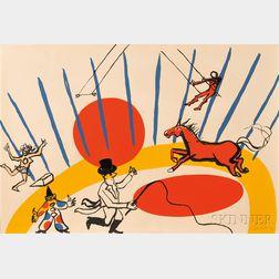 Alexander Calder (American, 1898-1976)      Circus.