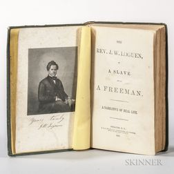 Abolition of Slavery, Two Titles from the 1850s.