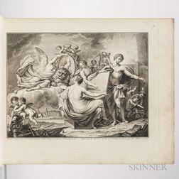 Pigage, Nicolas de (1723-1796) and Christian von Mechel (1737-1817) Estampes du Catologue Raisonne et Figure des Tableaux de la Galerie