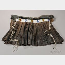 Zulu Leather Skirt