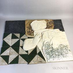 Àlvar Suñol Munoz-Ramos (Spanish, b. 1935)      Two Ceramic Works: Les Amis