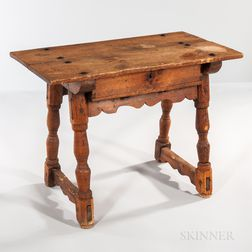 Continental Pine Trestle Table