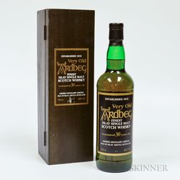 Very Old Ardbeg 30 Years Old, 1 70cl bottle (owc)
