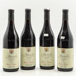 Pira & Figli (Ciara Boschis) Barolo Cannubi 1998, 4 bottles