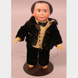 Bisque Head Moritz Character Doll
