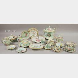 Approximately 402-piece Adams Calyx Ware Metz Pattern Dinner Service.