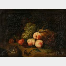 After Rachel Ruysch (Dutch, 1664-1750)      Fruit and Insects