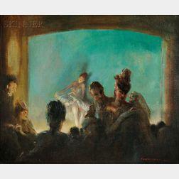 Everett Shinn (American, 1876-1953)      Paris Theatre
