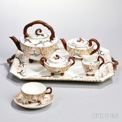Wedgwood Bone China Six-piece Tea Service