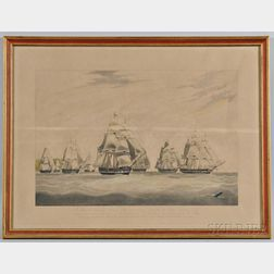 The Honorable East India Company's Ship INGLIS...  , W.J. Huggins, Publisher