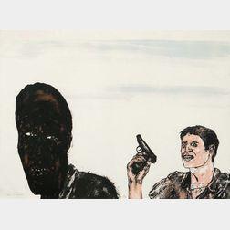 Leon Golub (American, 1922-2004)      South Africa
