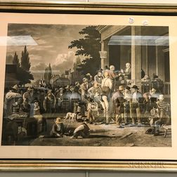 Framed Stump Speaking   and The County Election   Collotypes