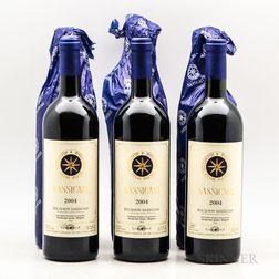 Tenuta San Guido Sassicaia 2004, 6 bottles