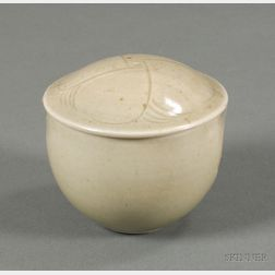 Bernard Leach St. Ives Covered Pottery Vessel