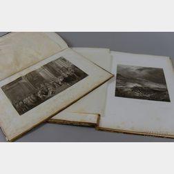 Two 19th Century Souvenir D'une Promenade a Versailles   Folios
