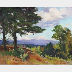 Marian Parkhurst Sloane (American, 1876-1954)      From a Hilltop