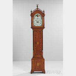 J. Gooding Eight-day Mahogany Tall Clock