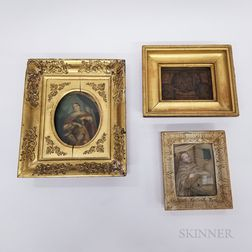 Three Framed Religious Works