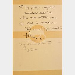 (Archibald MacLeish's Copy), Hemingway, Ernest (1899-1961)
