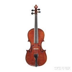 Modern Italian Violin, Plinio Michetti, Savona, 1924