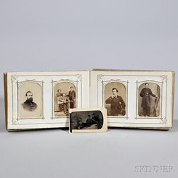 Victorian Photo Album.