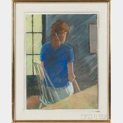 William Ciccariello (American, b. 1954)    Blue Shirt