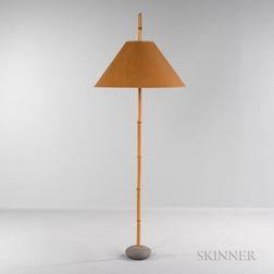 Robert Sonneman for George Kovacs Safari Collection Bamboo Floor Lamp