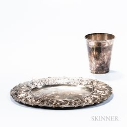Two Pieces of Swedish Silver Tableware