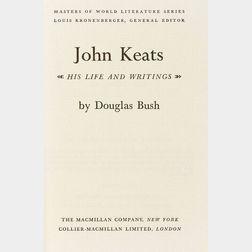 (Archibald MacLeish's Copy), Keats, John (1795-1821)