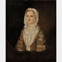 Sir Joshua Reynolds (British, 1723-1792)      Portrait of Mrs. Elizabeth Field