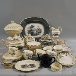 Group of European Pottery Tableware