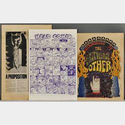 Underground Comics, Five Issues, 1967.
