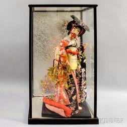 Wisteria Maiden (Fugi Musume )  Doll