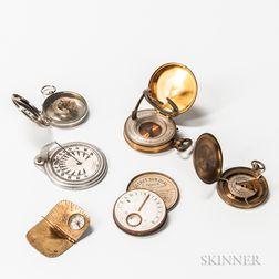 Six Pocket Sundials