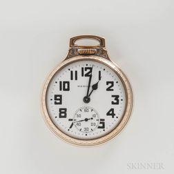 "Hamilton Watch Co. ""992B"" Open-face Watch"