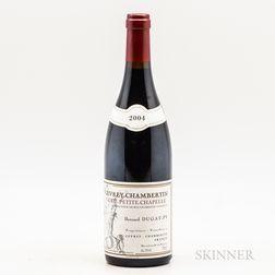 Bernard Dugat Py Gevrey Chambertin Petite Chapelle 2004, 1 bottle