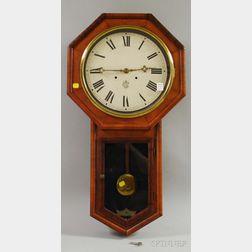Drop Octagonal Wall Clock by Waterbury Clock Co.
