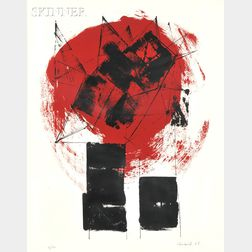 Lynn Chadwick (British, 1914-2003)      Composition Red and Black I