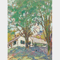 Roy Henry Brown (American, 1879-1956)      Wilton Center
